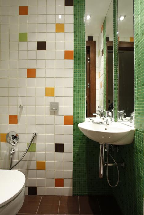 Квартира. ванная из проекта , фото №15808