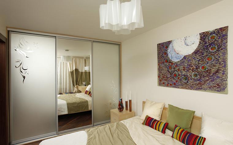 Квартира. спальня из проекта , фото №15804