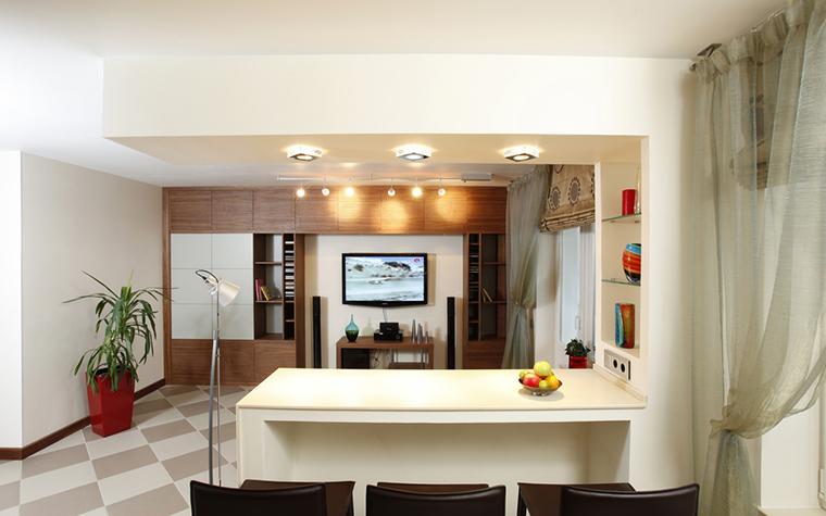Квартира. гостиная из проекта , фото №15798