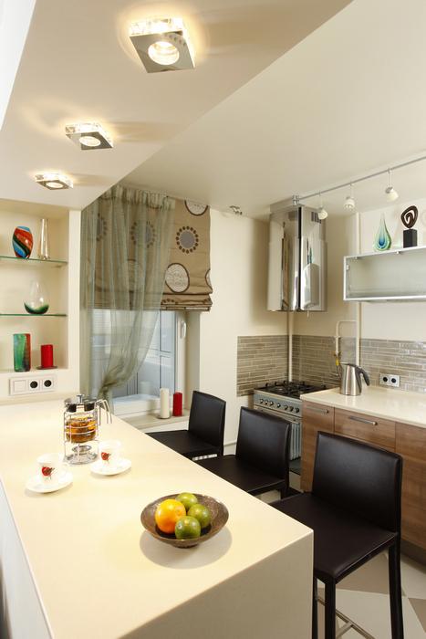 Квартира. кухня из проекта , фото №15801