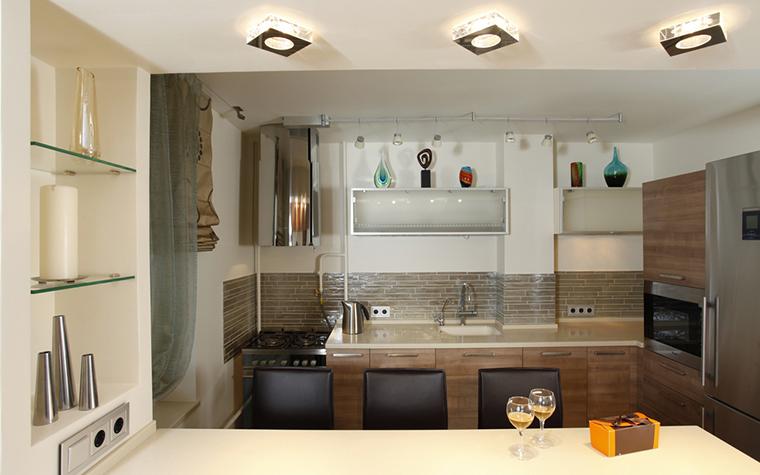 Квартира. кухня из проекта , фото №15802