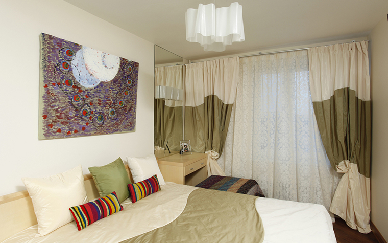 Квартира. спальня из проекта , фото №15803