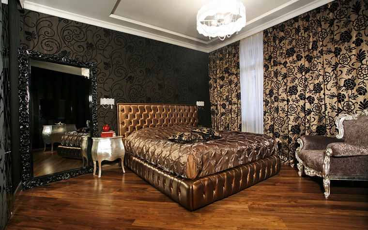 Квартира. спальня из проекта , фото №15824