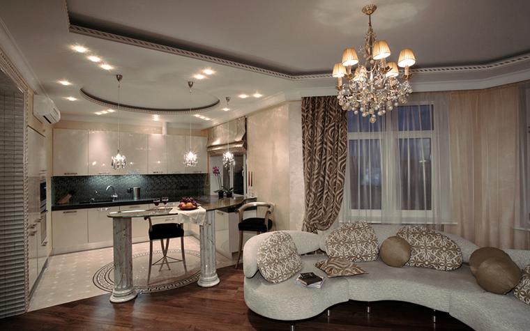 Фото № 15837 кухня  Квартира