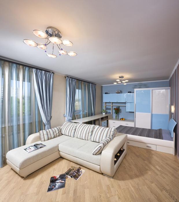 Фото № 15890 гостиная  Квартира
