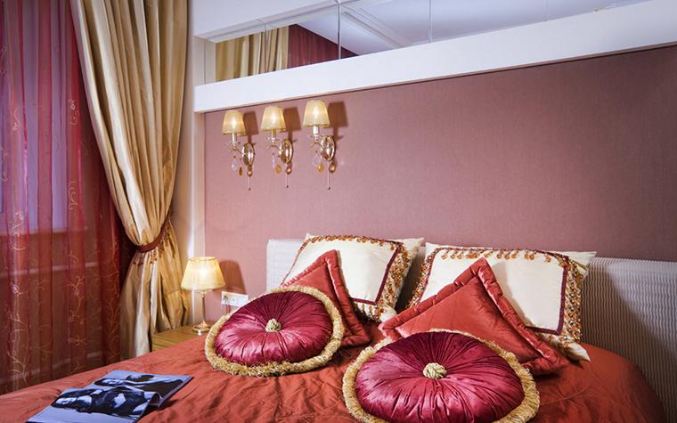 Квартира. спальня из проекта , фото №15887