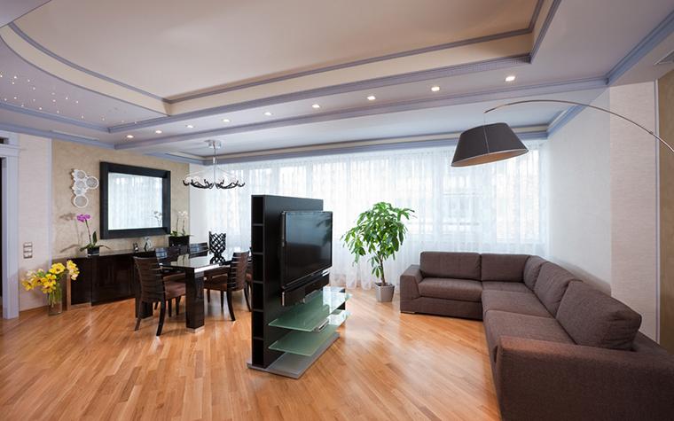 интерьер гостиной - фото № 15917