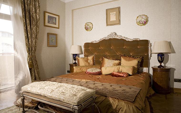 Квартира. спальня из проекта , фото №16010