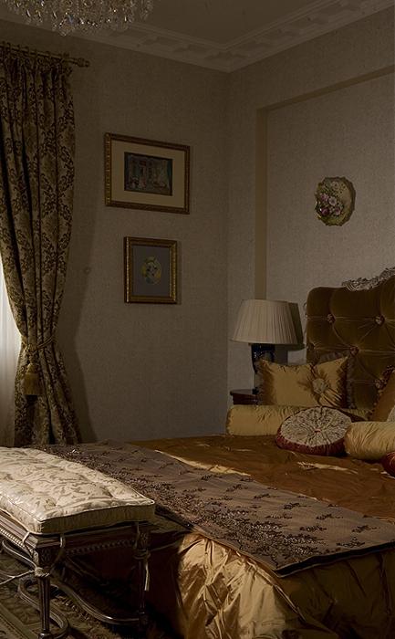 Квартира. спальня из проекта , фото №16011