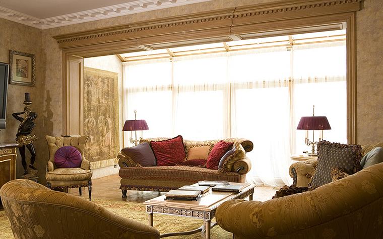 Квартира. гостиная из проекта , фото №16003
