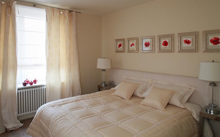 Квартира. спальня из проекта , фото №15956