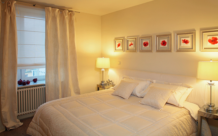 Квартира. спальня из проекта , фото №15957