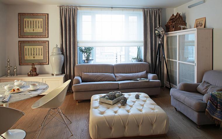Квартира. гостиная из проекта , фото №15959