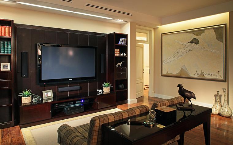 интерьер гостиной - фото № 15969