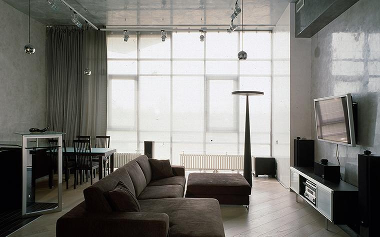 интерьер гостиной - фото № 16073