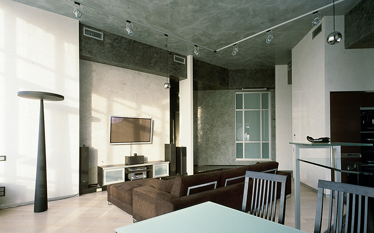 интерьер гостиной - фото № 16076