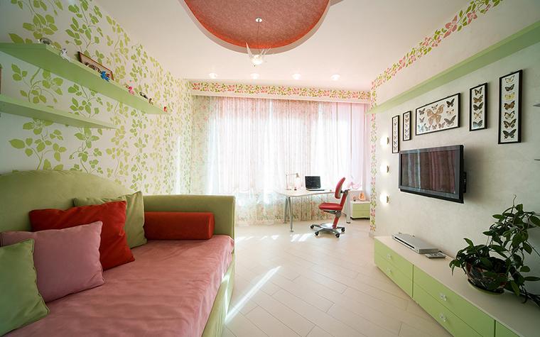 Фото дизайна интерьера детской комнаты