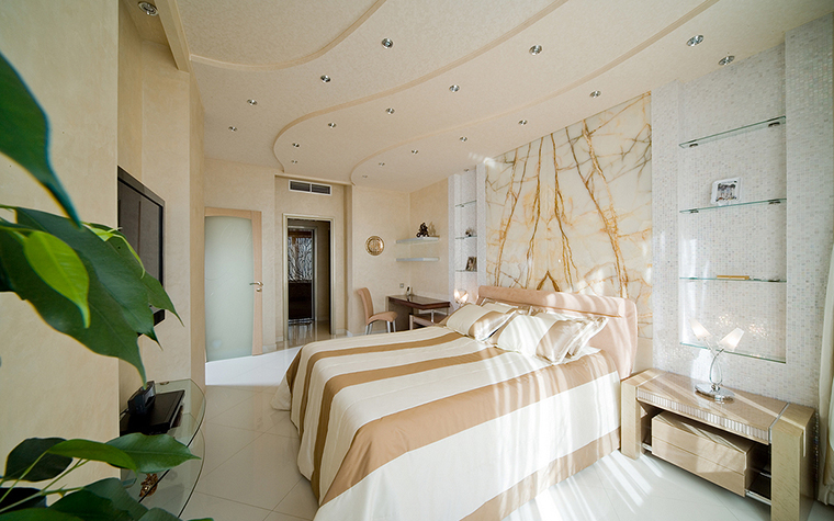 интерьер спальни - фото № 16166