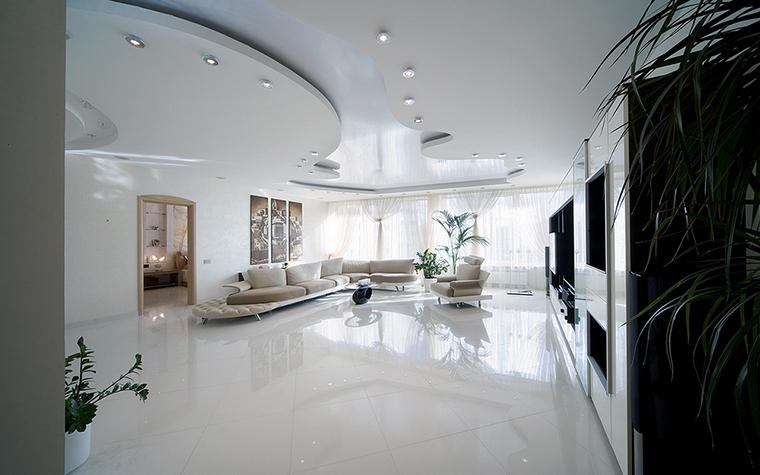 интерьер гостиной - фото № 16173