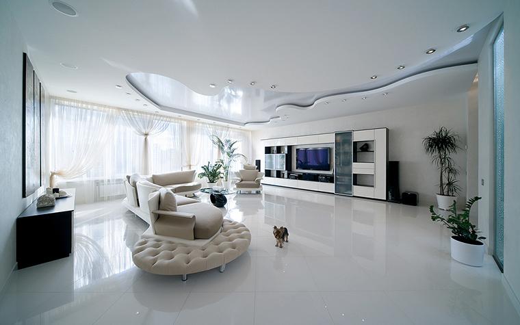 интерьер гостиной - фото № 16174