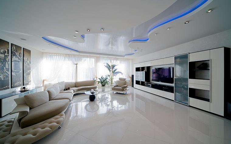 интерьер гостиной - фото № 16180