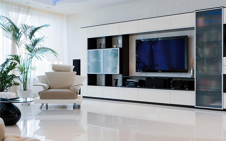 интерьер гостиной - фото № 16203