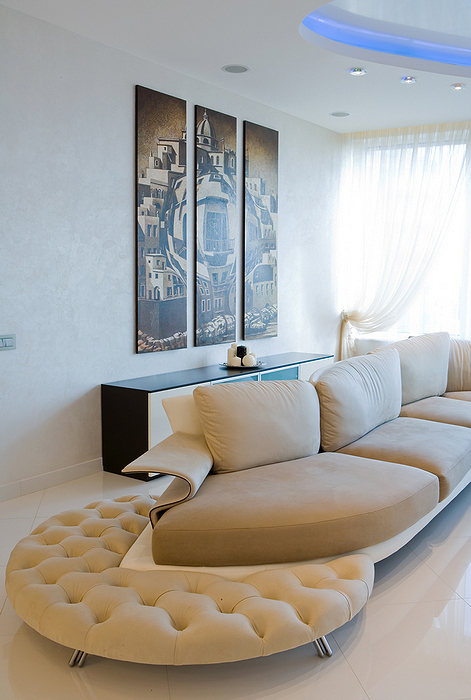 интерьер гостиной - фото № 16184