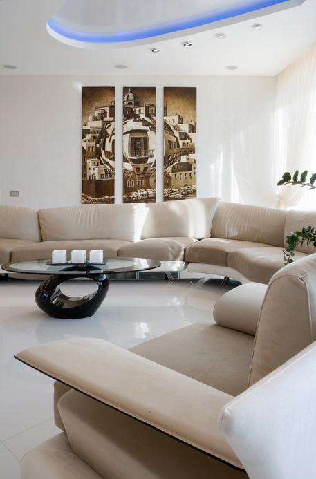 интерьер гостиной - фото № 16185