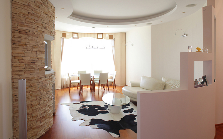 Квартира. гостиная из проекта , фото №16234