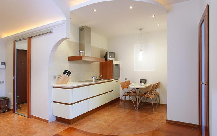 Квартира. кухня из проекта , фото №16239