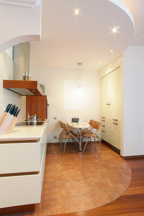 Квартира. кухня из проекта , фото №16240