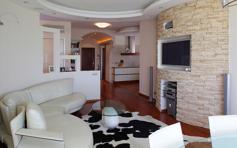 Квартира. гостиная из проекта , фото №16235