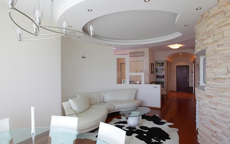 Квартира. гостиная из проекта , фото №16236