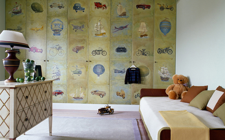 Квартира. детская из проекта , фото №16327