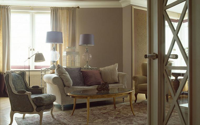 интерьер гостиной - фото № 16331