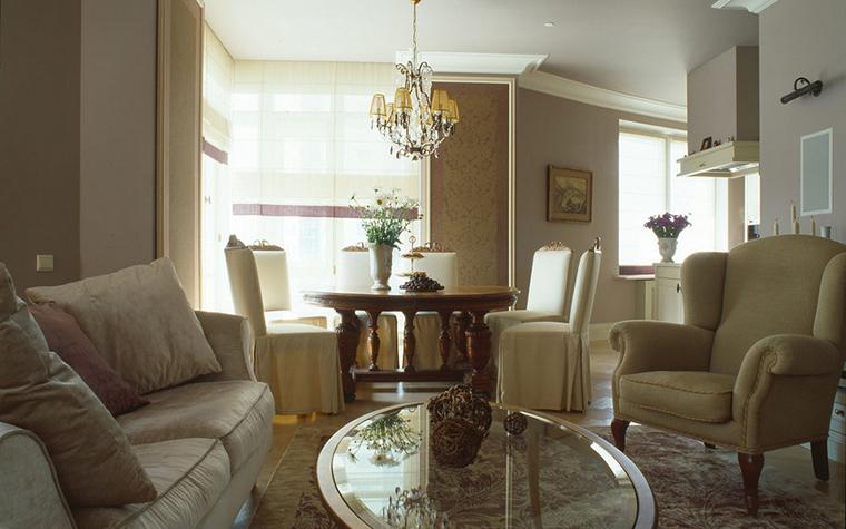 интерьер гостиной - фото № 16332