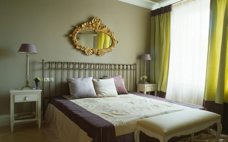 Квартира. спальня из проекта , фото №16340