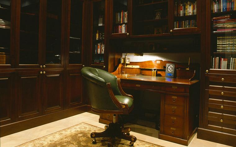 интерьер кабинета - фото № 16333