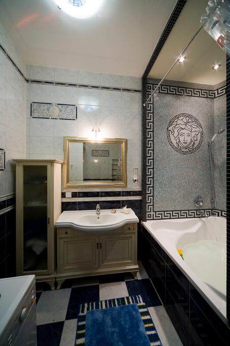 Квартира. ванная из проекта , фото №16344