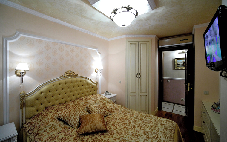 Квартира. спальня из проекта , фото №16350