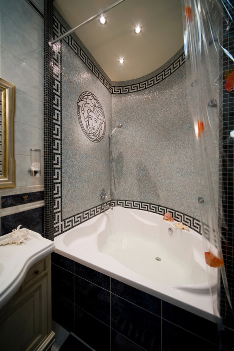 Квартира. ванная из проекта , фото №16343