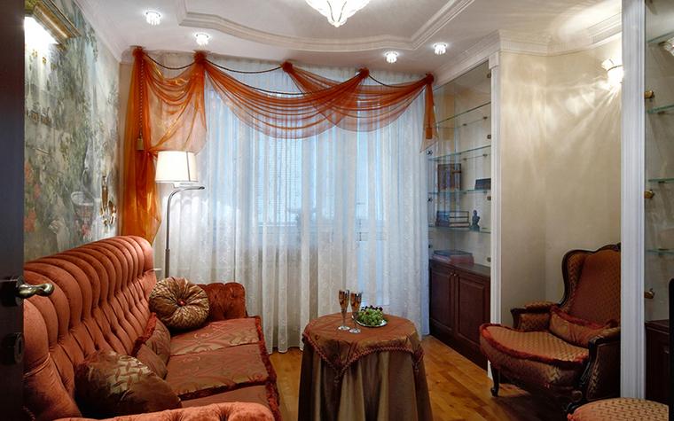 Квартира. гостиная из проекта , фото №16351