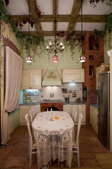 Квартира. кухня из проекта , фото №16345