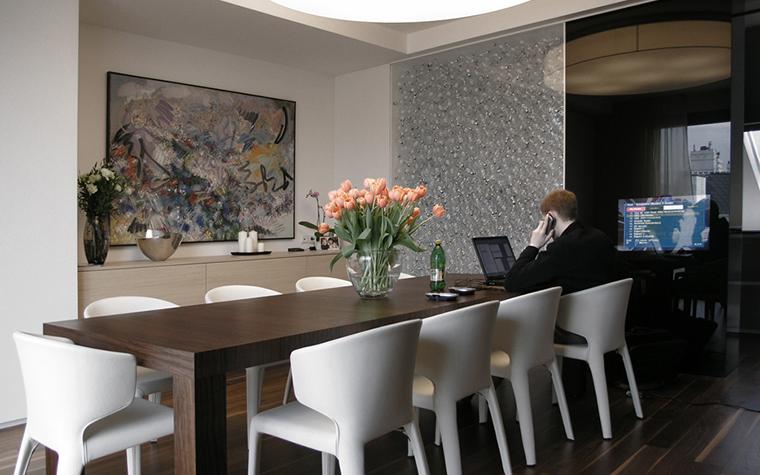 Квартира. столовая из проекта , фото №16366