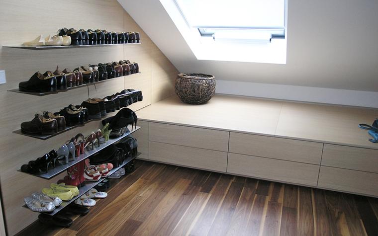 интерьер гардеробной - фото № 16369