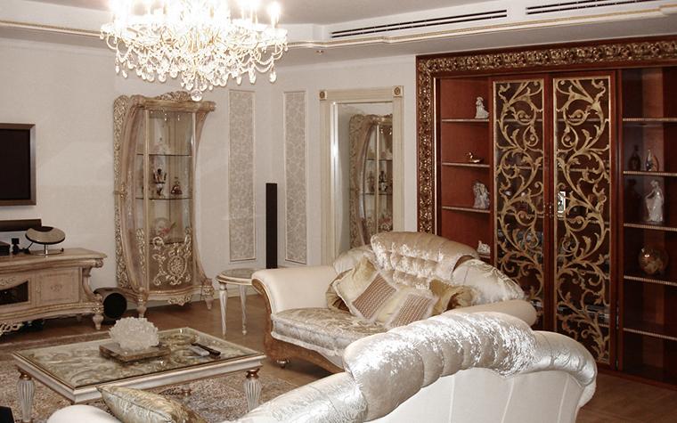 интерьер гостиной - фото № 16373