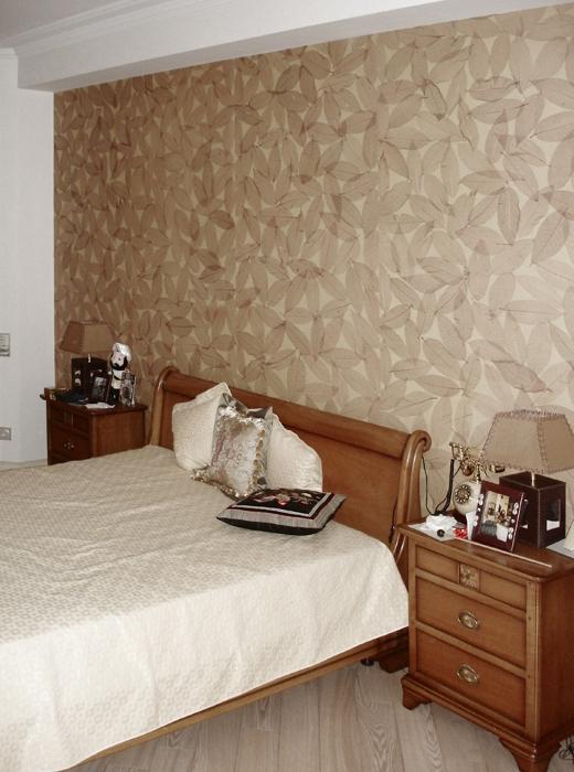 Квартира. спальня из проекта , фото №16379