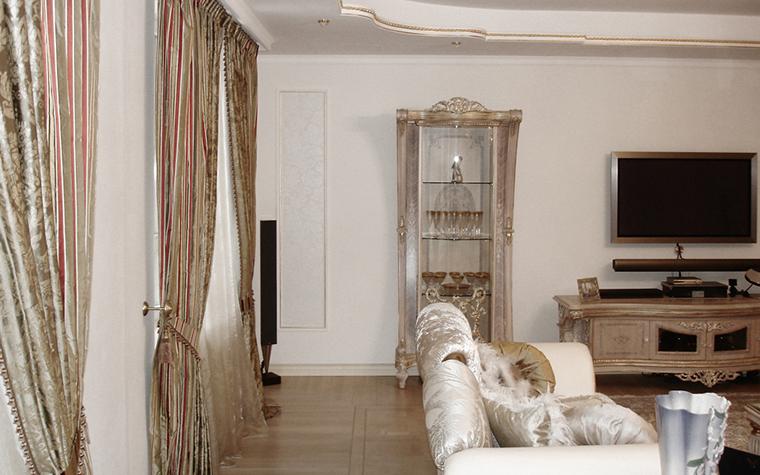 интерьер гостиной - фото № 16374
