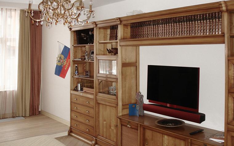 Квартира. спальня из проекта , фото №16377