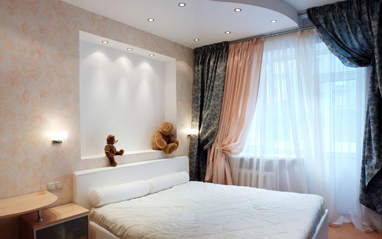 интерьер спальни - фото № 16418